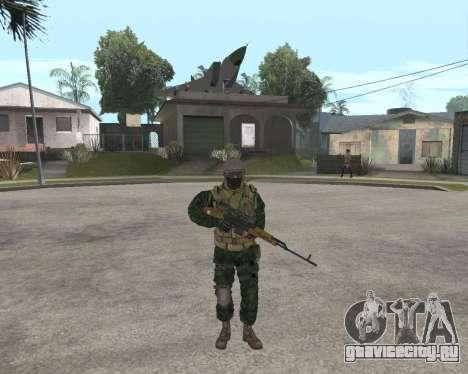 Русская армия Skin Pack для GTA San Andreas шестой скриншот