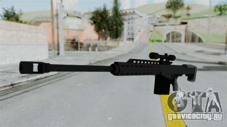GTA 5 Heavy Sniper (M82 Barret) для GTA San Andreas второй скриншот