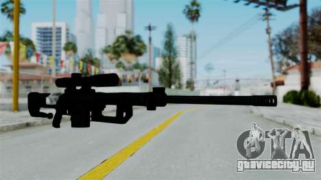 M2000 CheyTac Intervention without Stands для GTA San Andreas второй скриншот