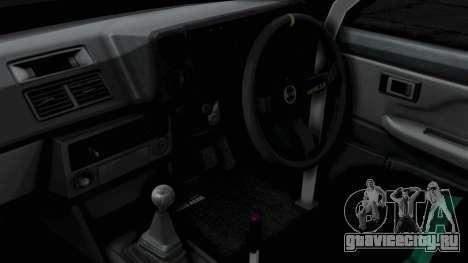 Toyota AE86 Trueno Hella для GTA San Andreas вид справа