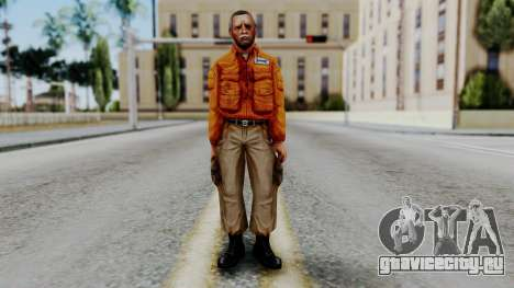 CS 1.6 Hostage 02 для GTA San Andreas второй скриншот