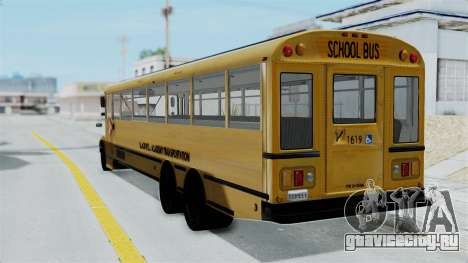 Bus from Life is Strange для GTA San Andreas вид слева