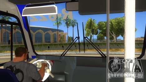 CAMION R622 для GTA San Andreas вид снизу