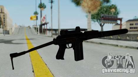9A-91 Kobra and Suppressor для GTA San Andreas второй скриншот