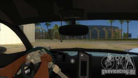GTA 5 Progen T20 Lights version для GTA San Andreas вид изнутри