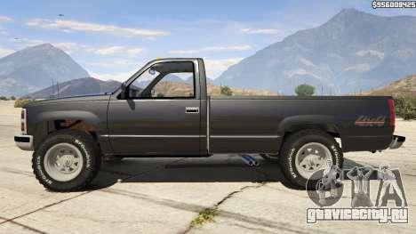 1994 Chevrolet Silverado для GTA 5 вид слева