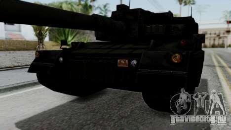 Point Blank Black Panther Woodland IVF для GTA San Andreas вид сбоку