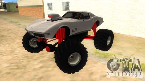 1968 Chevrolet Corvette Stingray Monster Truck для GTA San Andreas