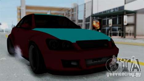 GTA 5 Karin Sultan RS Stock для GTA San Andreas