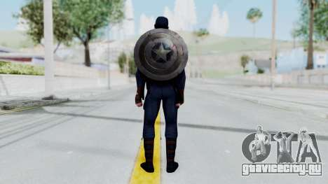 Marvel Future Fight - Captain America для GTA San Andreas третий скриншот