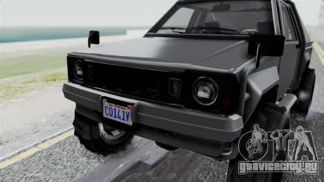 GTA 5 Karin Rebel 4x4 IVF для GTA San Andreas вид сбоку