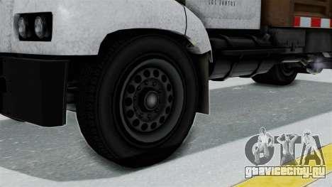 GTA 5 Tipper Second Generation для GTA San Andreas вид сзади слева