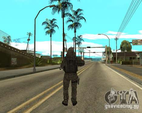 Русская армия Skin Pack для GTA San Andreas восьмой скриншот