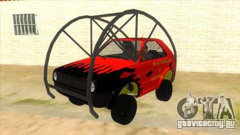 Volkswagen Golf MK2 RollGolf для GTA San Andreas