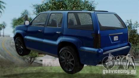 GTA 5 Albany Cavalcade v2 IVF для GTA San Andreas вид слева