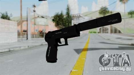 GTA 5 Combat Pistol для GTA San Andreas второй скриншот
