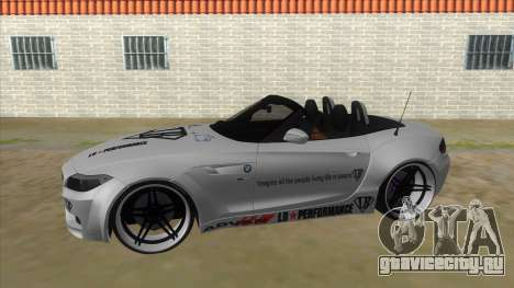 BMW Z4 Liberty Walk Performance Livery для GTA San Andreas вид слева