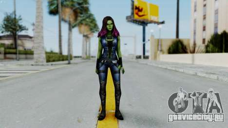 Marvel Future Fight - Gamora для GTA San Andreas второй скриншот