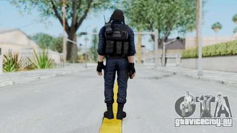 GIGN 1 No Mask from CSO2 для GTA San Andreas третий скриншот