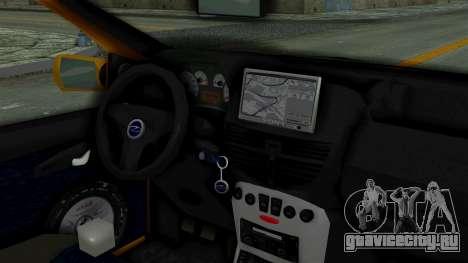 Zastava 10 2006 Final Version для GTA San Andreas вид сзади слева