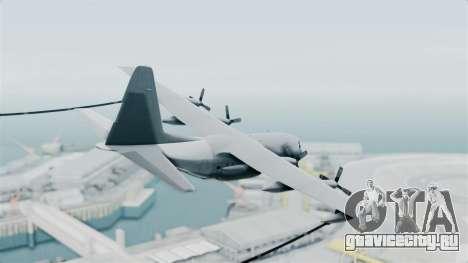 KC-130 Air Tanker для GTA San Andreas вид слева