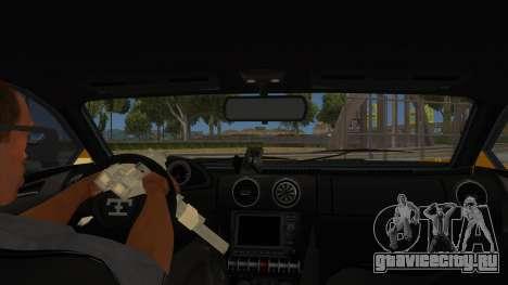 GTA 5 Truffade Adder для GTA San Andreas вид изнутри