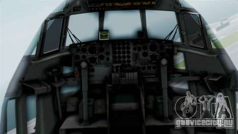KC-130 Air Tanker для GTA San Andreas вид сзади