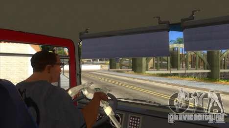 Roman 8135 FA для GTA San Andreas вид снизу