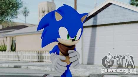 Sonic Boom для GTA San Andreas