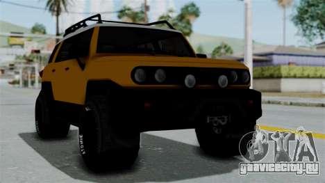 GTA 5 Karin Beejay XL Offroad для GTA San Andreas
