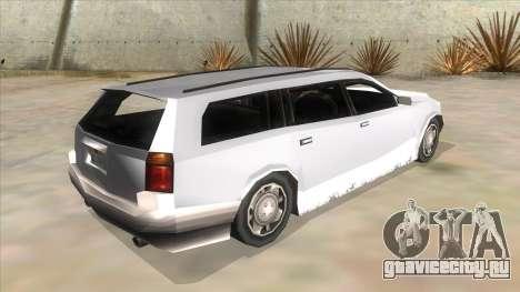 GTA LCS Sindacco Argento для GTA San Andreas вид сзади
