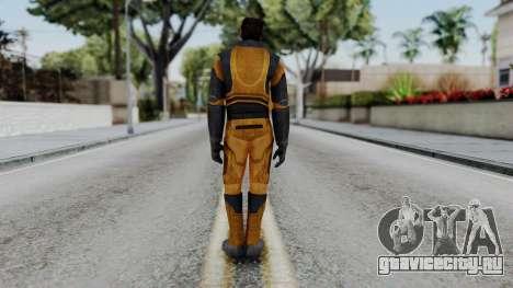 Gordon Freeman Skin для GTA San Andreas третий скриншот