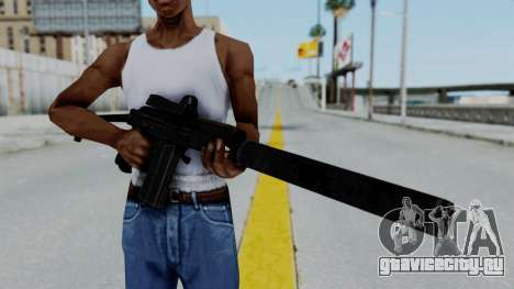9A-91 Kobra and Suppressor для GTA San Andreas третий скриншот