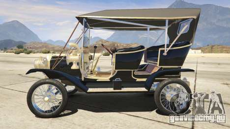 Ford T 1910 Passenger Open Touring Car для GTA 5