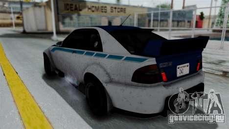GTA 5 Karin Sultan RS Rally PJ для GTA San Andreas