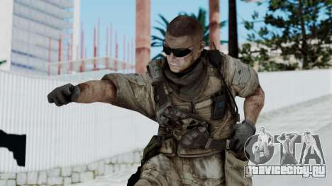Crysis 2 US Soldier 2 Bodygroup B для GTA San Andreas