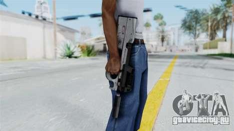 P90 Grey для GTA San Andreas третий скриншот