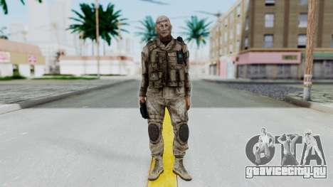 Crysis 2 US Soldier FaceB2 Bodygroup A для GTA San Andreas второй скриншот