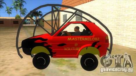 Volkswagen Golf MK2 RollGolf для GTA San Andreas вид слева