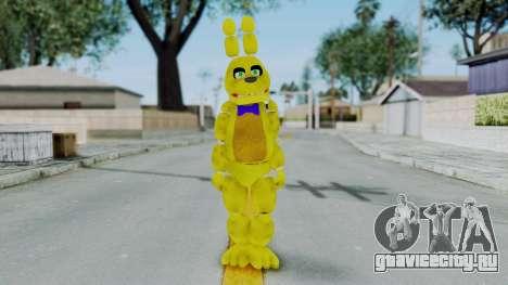 FNAF Spring Bonnie для GTA San Andreas второй скриншот