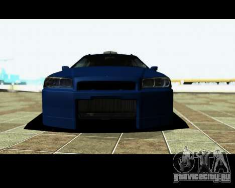 Nissan Stagea Tunable для GTA San Andreas