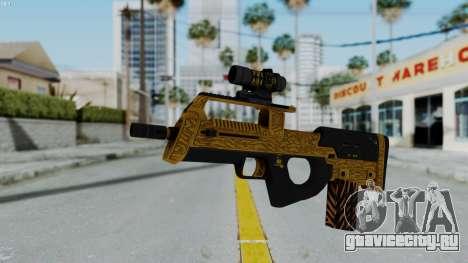 GTA 5 Online Lowriders DLC Assault SMG для GTA San Andreas второй скриншот