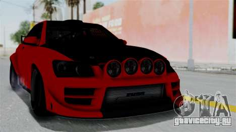 GTA 5 Karin Sultan RS Rally для GTA San Andreas