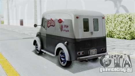 Divco 206 Milk Truck 1949-1955 Mafia 2 для GTA San Andreas вид слева