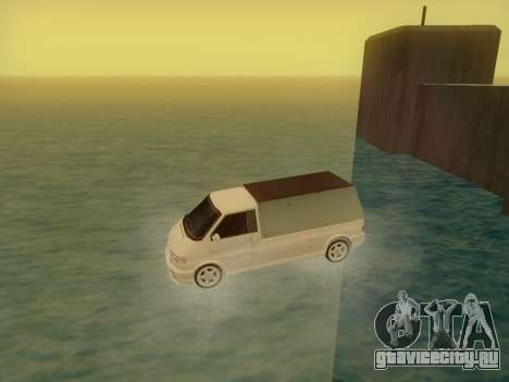 Volkswagen T4 Caravelle 35 Cup (1997) [Вездеход] для GTA San Andreas