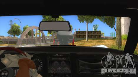 1968 Chevrolet Corvette Stingray Monster Truck для GTA San Andreas вид изнутри
