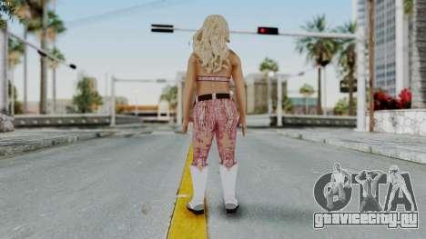 WWE Natalya для GTA San Andreas третий скриншот