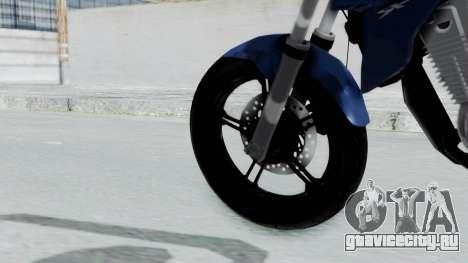 Honda CB300R для GTA San Andreas вид сзади слева