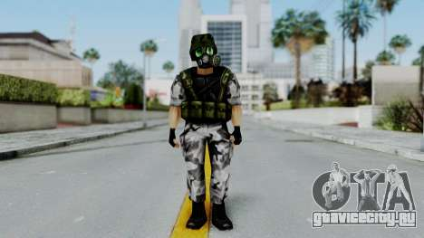 Shephard from Half-Life Opposing Force для GTA San Andreas второй скриншот