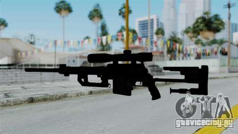 M2000 CheyTac Intervention without Stands для GTA San Andreas третий скриншот